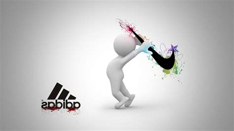 wallpaper adidas nike nike vs adidas hd logo 4k wallpapers images