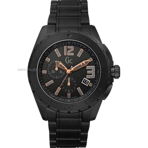Men's Gc Sport Class XXL Blackout Ceramic Watch (X76009G2S)   WATCH SHOP.com?