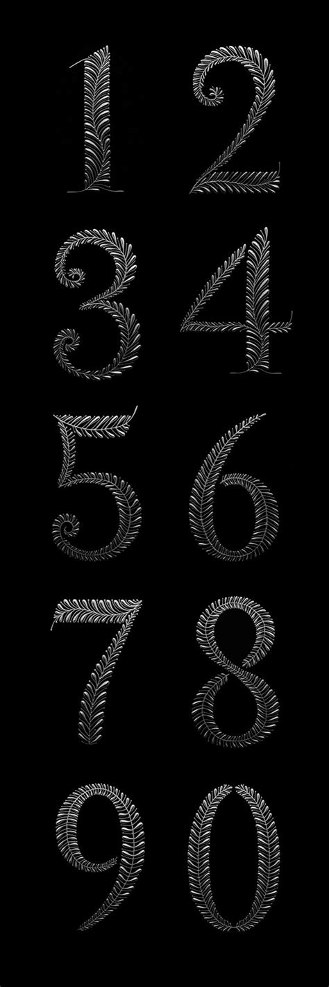 tattoo every letter and number 25 best ideas about number tattoo fonts on pinterest