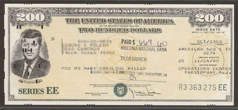 where to get savings bonds united states savings bond series ee 10 1980 200 jfk