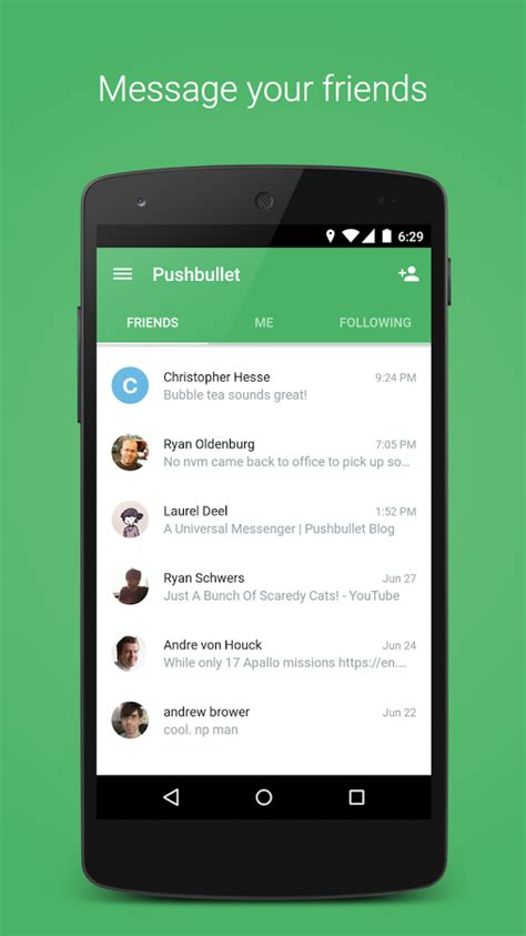 rk remote apk pushbullet android central