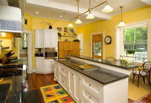 10 beautiful kitchens with yellow walls