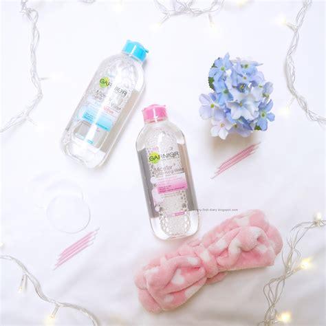Garnier Micellar Water 400 Ml Kilit Kombinasi Ke Sensitif garnier micellar water review venny firstyani