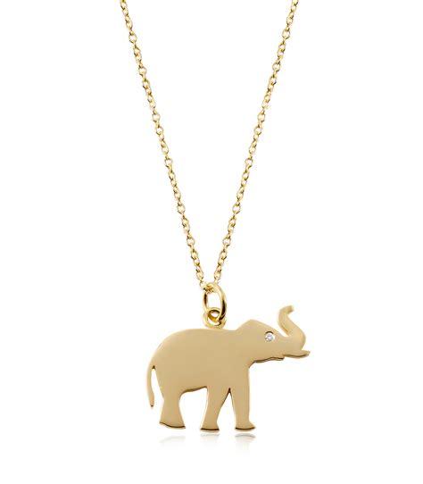 elephant charm necklace jewelry
