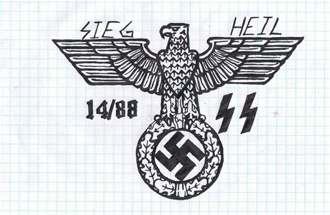 german eagle tattoo designs iron eagle by zackygates6661 on deviantart