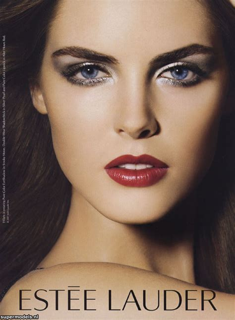 Hilary Rhoda Is The Newest Of Estee Lauder by Hilary Rhoda Estee Lauder Www Pixshark Images