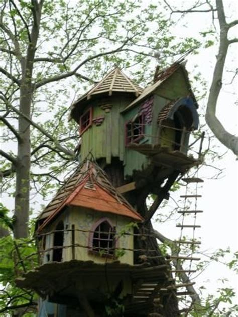 elf house on a tree elf tree house treehouses pinterest