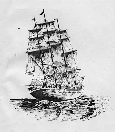 boat drawing ink boat pen ink carmenbianco