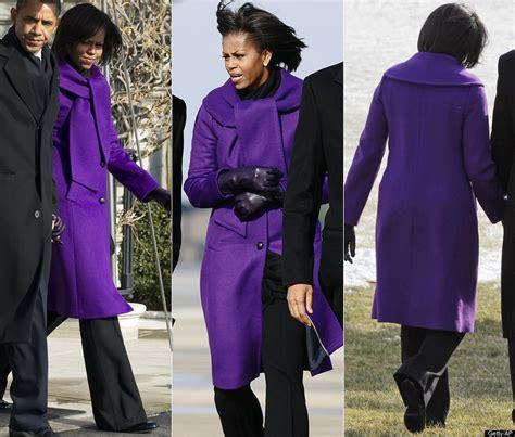 obama s favorite color obama picks purple for winter wear photos poll