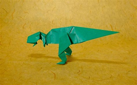 Origami Allosaurus - tyrannosaurus tetsuo kimura gilad s origami page