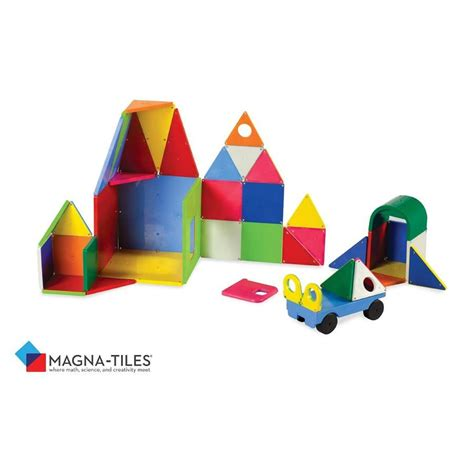 Magna Built 64 Pcs by Toys And Co Product Detail Magna Tiles Deluxe 48 Pcs