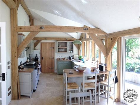 A Frame Kitchen Ideas Eco Timber Frame Open Plan Timber Frame House