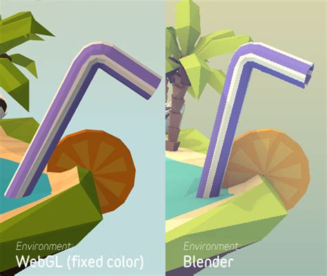 color js materials from blender to three js colors seem to be