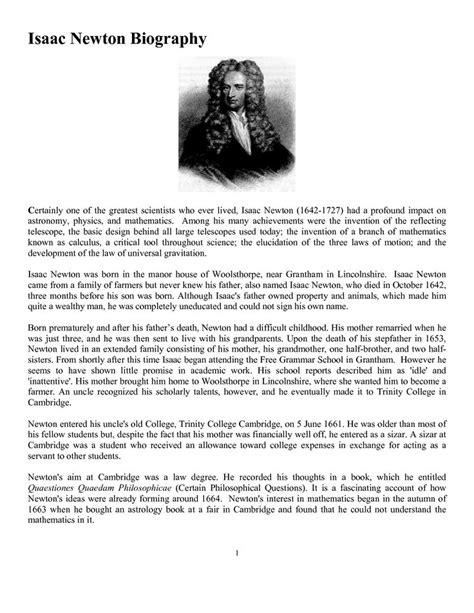biography of isaac newton in telugu isaac newton biography physics pinterest