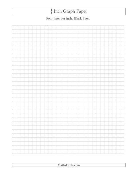 6 printable graph paper 1 4 inch investors group hamilton