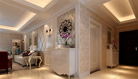 Living Room Entrance Ideas by 3d Design Entrance And Living Room 3d House