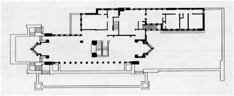 robie house plans the robie house floor plan by frank lloyd wright howard architectural models