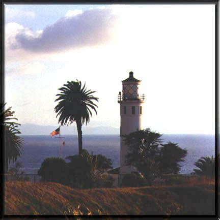 palos verdes lights point vicente lighthouse
