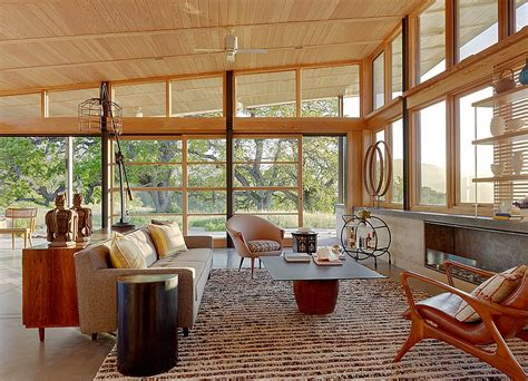 Indoor Outdoor Living Room by Mid Century Modern Style Design Guide Ideas Photos