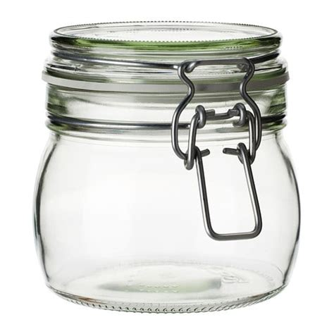 glass jars korken jar with lid ikea