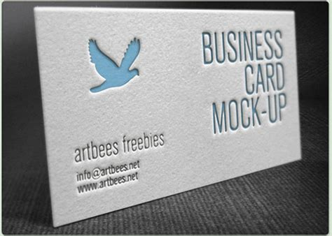42 affordable letterpress business card free premium