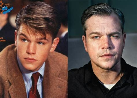 matt damon then and now feedmaze 20 now and then