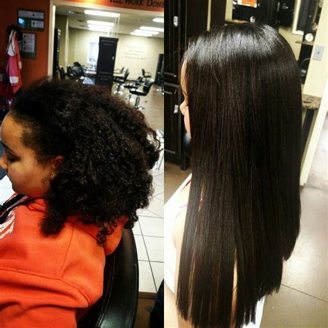 chemical curls for black hair 13 best relaxers before and after images on pinterest