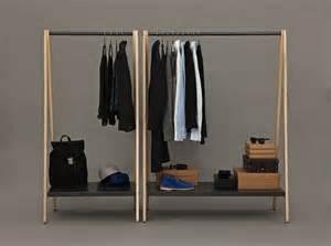 Stand Alone Coat Closet by Normann Copenhagen Toj Simon Legald Freestanding