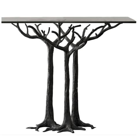 tree trunk console table 93 best tree trunk tables images on tree stump