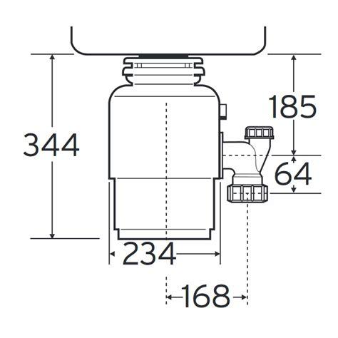 sink waste disposal insinkerator evolution 200 waste disposal unit kitchen