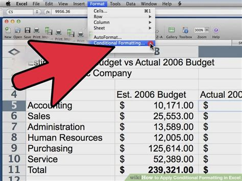 auto format excel 2007 how to apply conditional formatting in excel with pictures