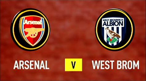 arsenal west brom bbc sport football league cup arsenal 2 0 west brom