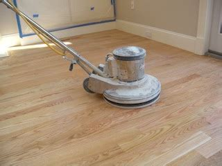 Hardwood Floor Buffer Sanding Sappy Or Gummy Wood Flooring