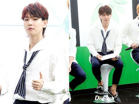 model rambut exo chen dan baekhyun bicara soal gaya rambut baru di comeback