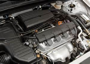 2003 honda civic coupe 1 7l 4 cylinder engine picture
