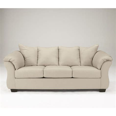 ashley furniture sectional microfiber signature design by ashley furniture darcy microfiber full