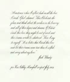 anomaly more copperplate calligraphy examples