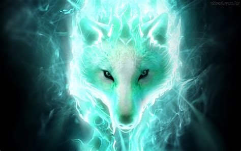 wallpaper abyss wolf white spirit wolf full hd wallpaper and background image