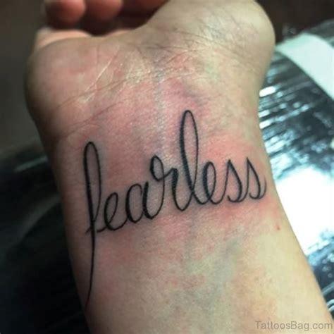 fearless wrist tattoo 26 dazzling fearless tattoos on wrist
