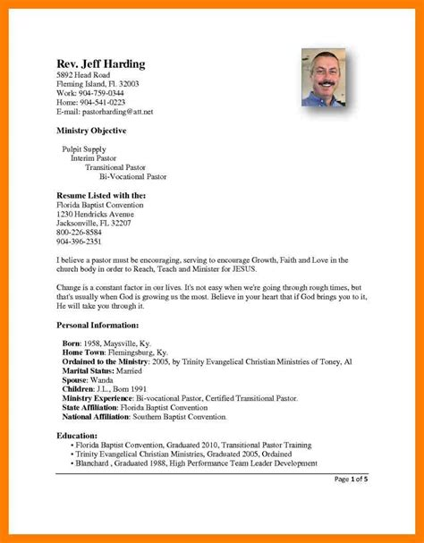 pastor resume cover letter military bralicious co