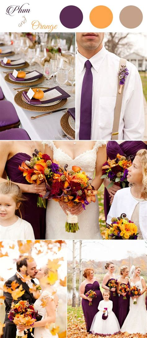 plum wedding colors get inspired by these awesome plum purple wedding color