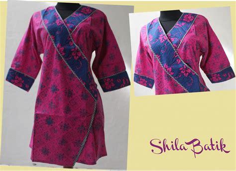 Murah Batik Top Blue Nisa toko grosir baju batik murah dress blouse tattoos for