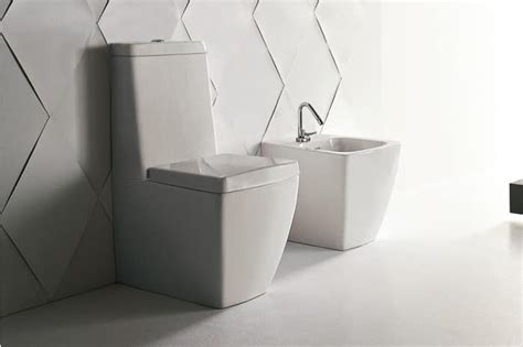 Bidet Bathroom Fixture Wc And Bidet Made Of Ceramic Compact Size Idfdesign