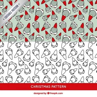 christmas patterns year 1 elves vectors photos and psd files free download