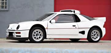 Ford Rs200 One Of 24 Built By Ford 1986 Rs200 Evolution Heads To Auc