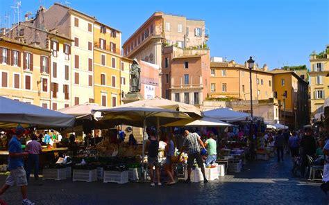 stassen fiori rom co de fiori ein ber 252 hmter markt mit dunkler