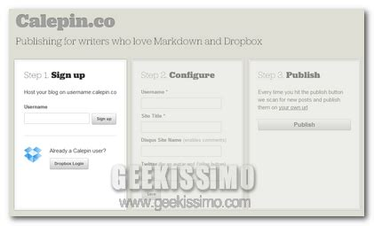 host a blog on dropbox with calepin calepin co creare un blog di solo testo sfruttando
