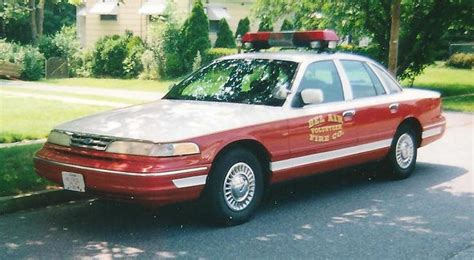 1995 ford crown victoria c301 bel air volunteer fire company