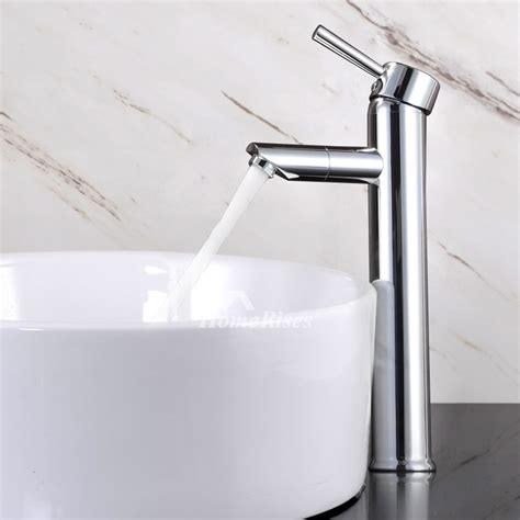 chrome vessel sink faucet polished chrome single handle brass bathroom vessel sink