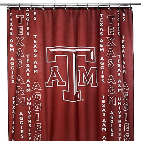 texas a m shower curtain texas a m university 71 inch x 71 inch shower curtain